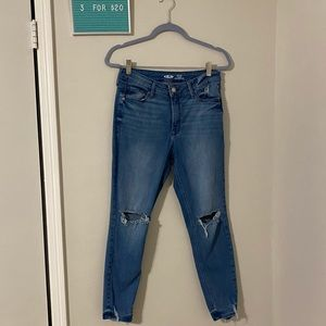 3for$20 skinny distressed jeans